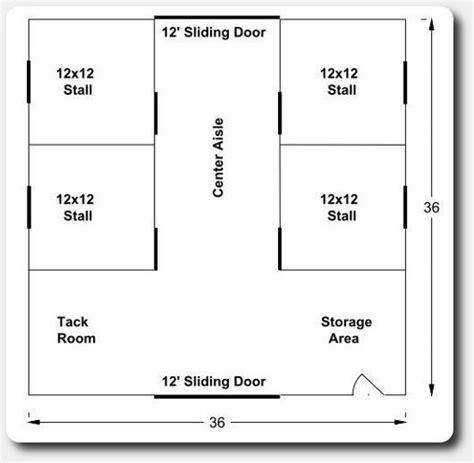 Pole-Building-Horse-Barn-Floor-Plans