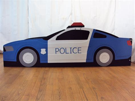 Police-Car-Bed-Plans