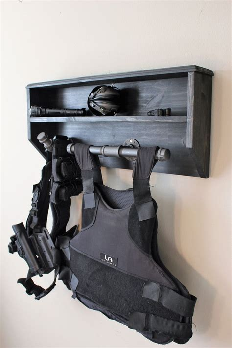 Police-Duty-Gear-Rack-Plans