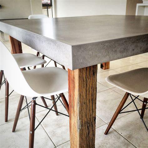 Polished-Concrete-Table-Diy