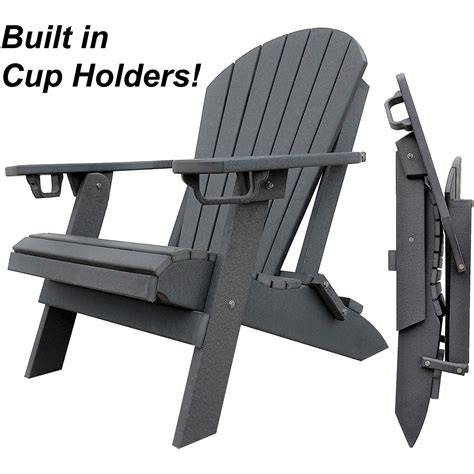 Polywood-Adirondack-Chairs-With-Cup-Holders