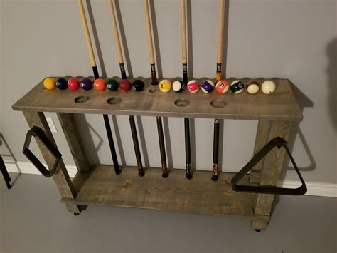 Pool Cue Rack Diy Halloween