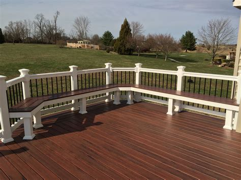 Pool Deck Benches Plans
