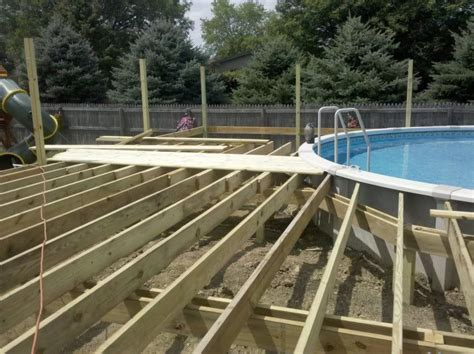 Pool Deck Framing Plans