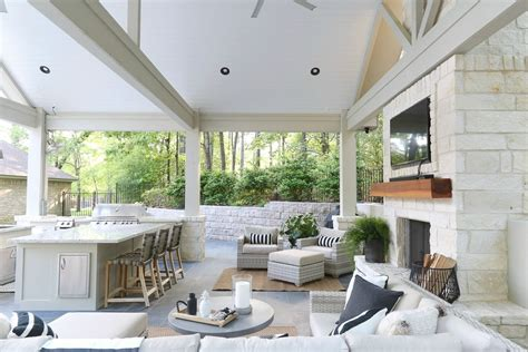 Pool House Kitchen Designs