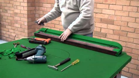 Pool Table Felt Repair DIY
