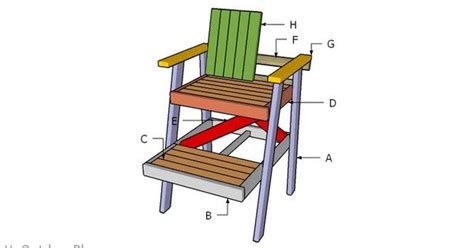 Pool-Lifegaurd-Chair-Plans-Free