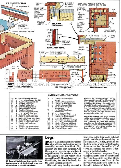 Pool-Table-Plans