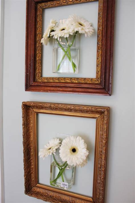 Pop Out Wall Picture Frame Diy Distressed