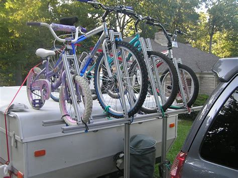 Pop Up Trailer Bike Rack Diy Garage