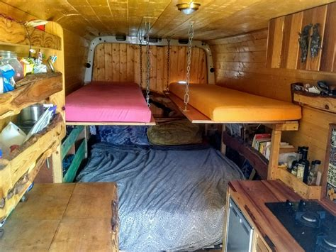 Pop Up Trailer Bunk Bed Diy Design