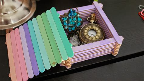 Popsicle Box DIY