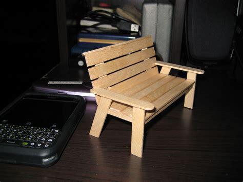 Popsicle-Stick-Bench-Plans