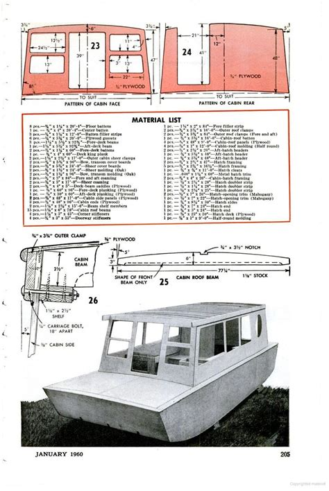 Popular Science Boat Plans