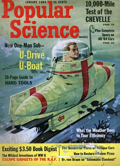 Popular Science Boat Plans 1964 The Tribute