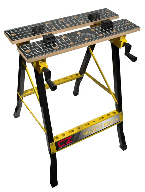 Popular Woodworking Portable Folding Workbench