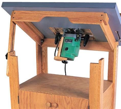 Popular Woodworking Router Table Plans