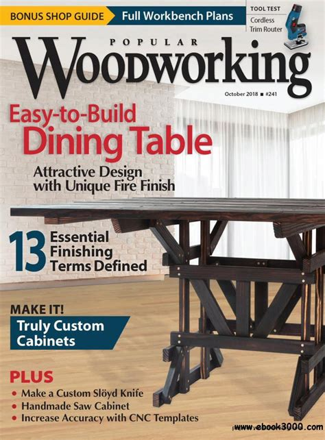 Popular Woodworking Torrents 2018