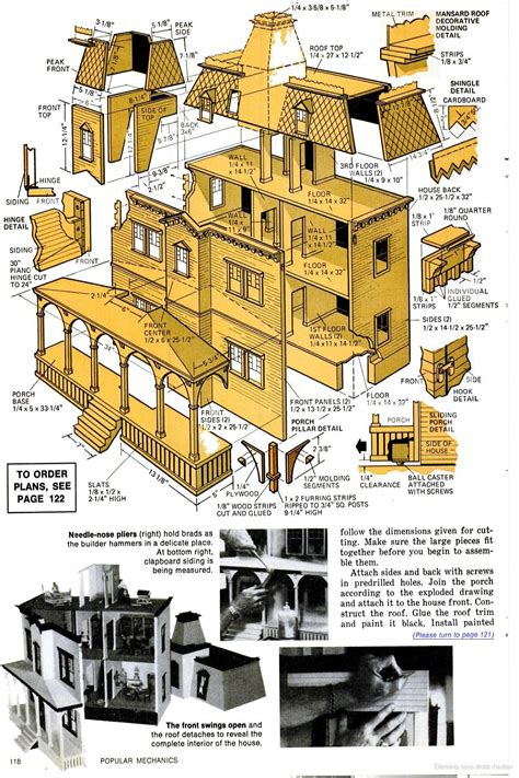 Popular-Mechanics-Homemade-Dollhouse-Plans