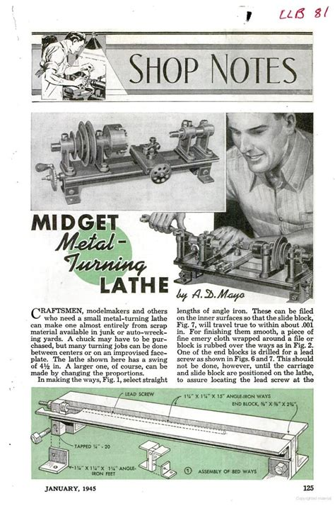 Popular-Mechanics-Wood-Plans-Archive
