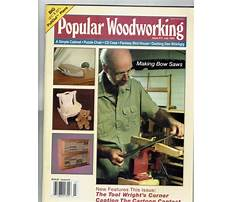 Best Popular woodworking magazine back issues