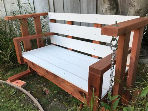 Porch Glider Swing Plans
