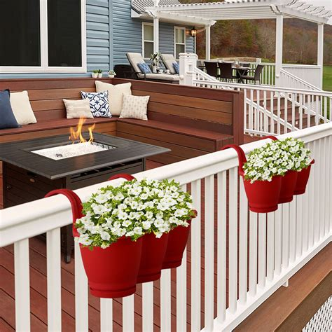 Porch Railing Planter Box Holder