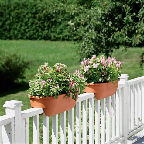 Porch Railing Planter Boxes