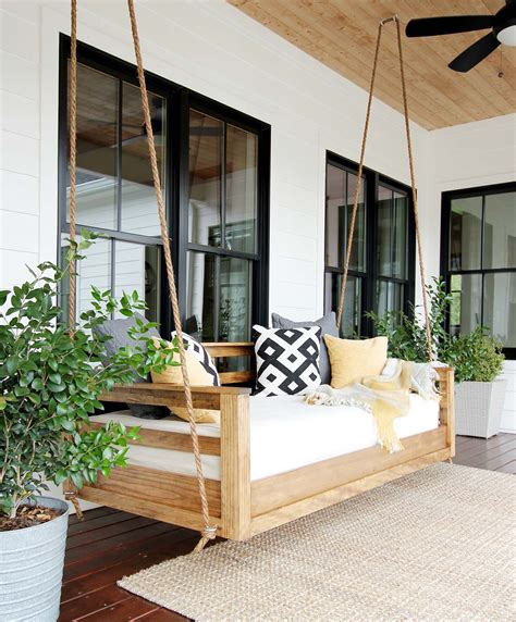 Porch Swing Daybed Plans