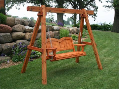 Porch Swing Frame Plans UK