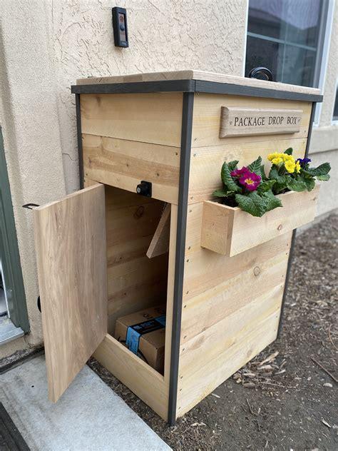 Porch-Package-Box-Plans