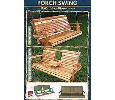 Best Porch swing plans and patterns