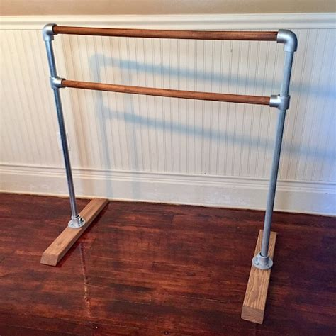 Portable Ballet Barre Wood Diy Small
