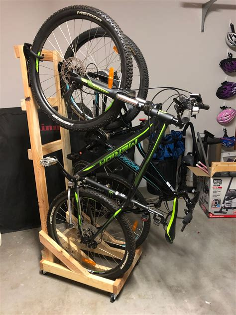 Portable Bike Stand Diy