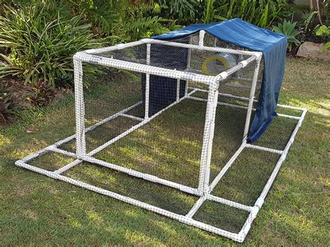 Portable Chicken Coop Plans Pvc