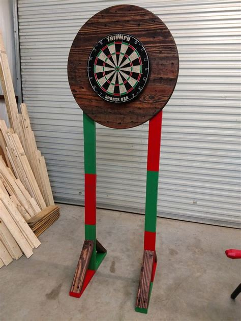 Portable Dartboard Stand Designs