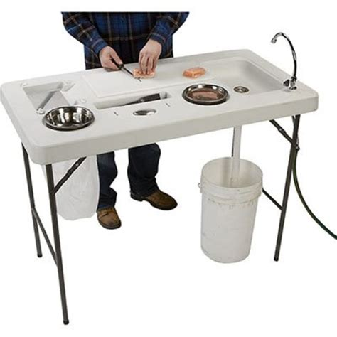 Portable Fish Cleaning Table Plans