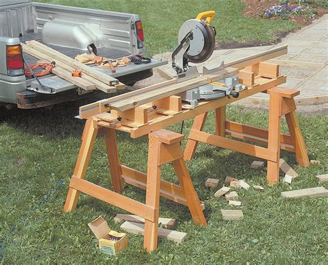 Portable Miter Saw Station Plans