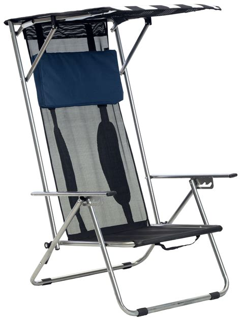 Portable Reclining Chair With Canopy