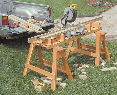 Portable Table Miter Saw Station And Dust