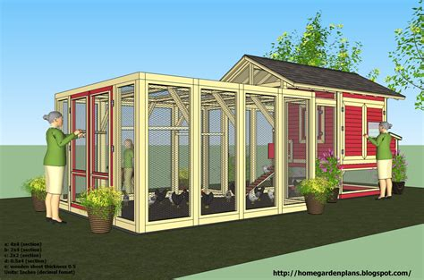 Portable-Chicken-Coop-Plans-For-12-Chickens