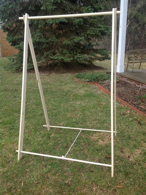 Portable-Clothes-Rack-Plans