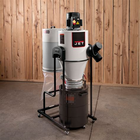 Portable-Cyclone-Dust-Collectors-For-Woodworking
