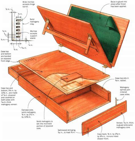 Portable-Desk-Woodworking-Plans