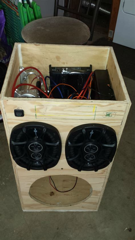Portable-Speaker-Box-Diy