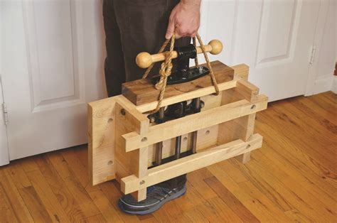 Portable-Traditional-Woodworking-Bench
