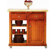 Best Portable kitchen island butcher block