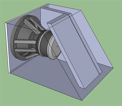 Ported Wedge Sub Box Plans