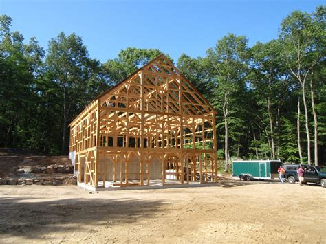Post Beam Timber Barn Plans