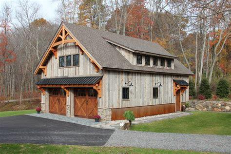 Post-And-Beam-Barn-Garage-Plans